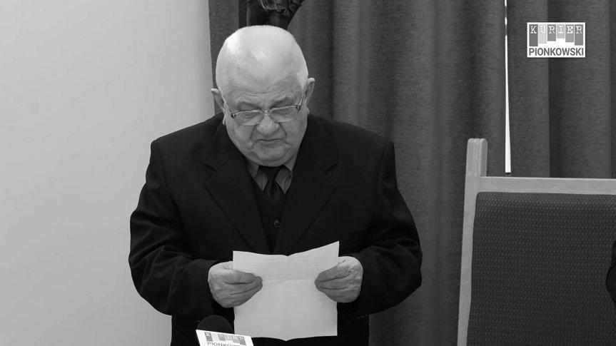Zmarł Zasłużony Obywatel Miasta Pionki – Kazimierz Iwanowski
