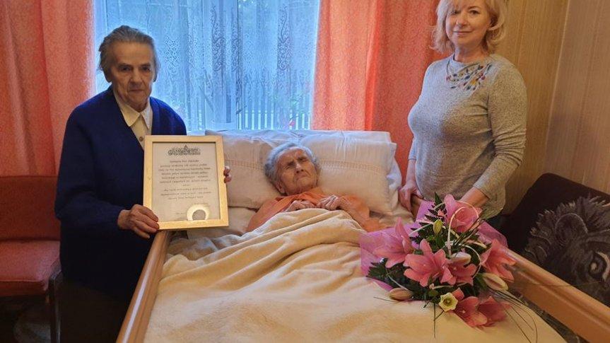 106 urodziny mieszkanki Pionek