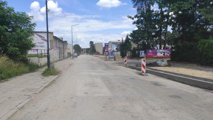 Przebudowa ul. Słowackiego i Krzywej